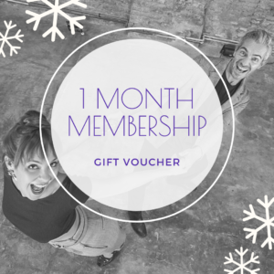 1 month membership gift voucher - The Blues Room