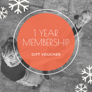 1 year membership gift voucher - The Blues Room