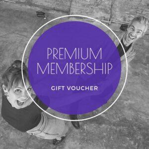 Premium membership gift voucher - shop - The Blues Room