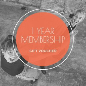 1 year membership gift voucher - shop - The Blues Room