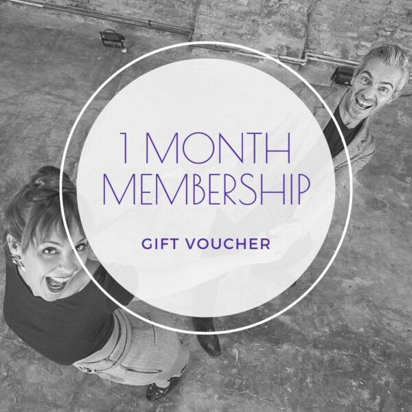 1 month membership gift voucher - shop - The Blues Room